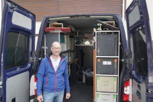 Parkett und Küchen im Landkreis München - Unser bestens ausgestatteter Werkstattwagen